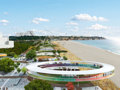 KONYAALTI COASTLINE ARCHITECTURE & COASTLINE DESIGN IDEA PROJECT COMPETITION (1ST PRIZE)