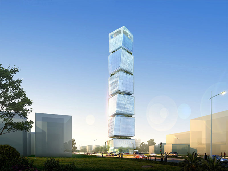 MINISTRY OF TAXES TOWER PROJECT LANDSCAPE DESING AND CONSULTANCY WORKS AZERBAIJAN