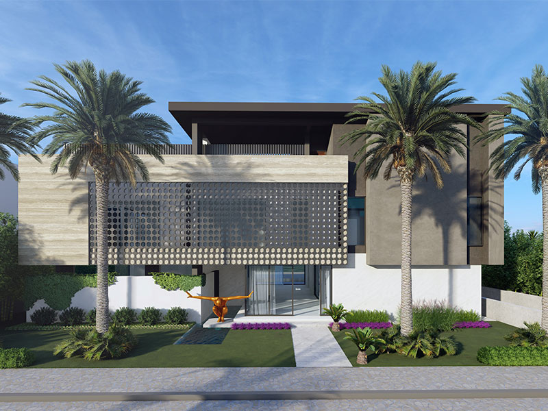 PALM JUMERIAH LUXURY AA VILLA LANDSCAPE PROJECT