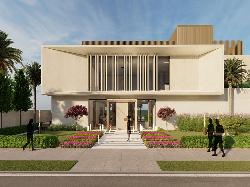 PALM JUMERIAH SIGNATURE VILLA LANDSCAPE PROJECT