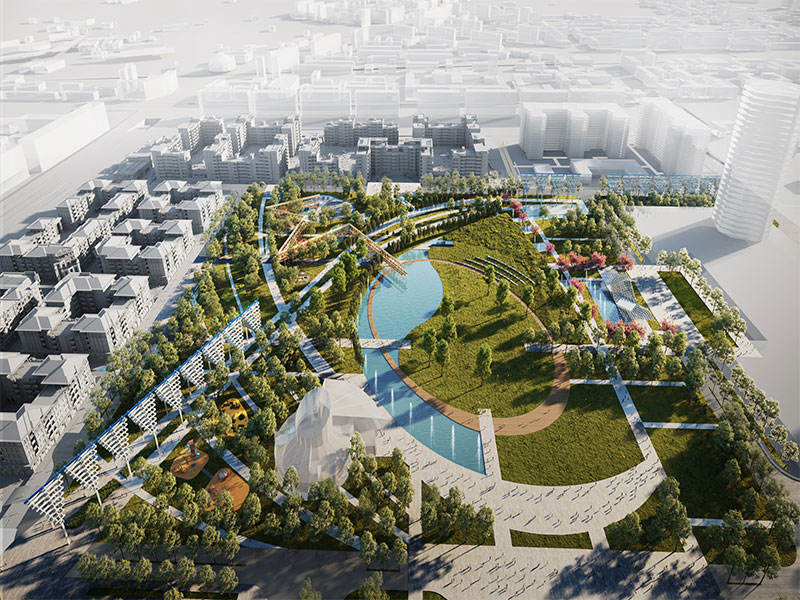 TASHKENT CITY CENTRAL PARK LANDSCAPE CONCEPT PROJECT